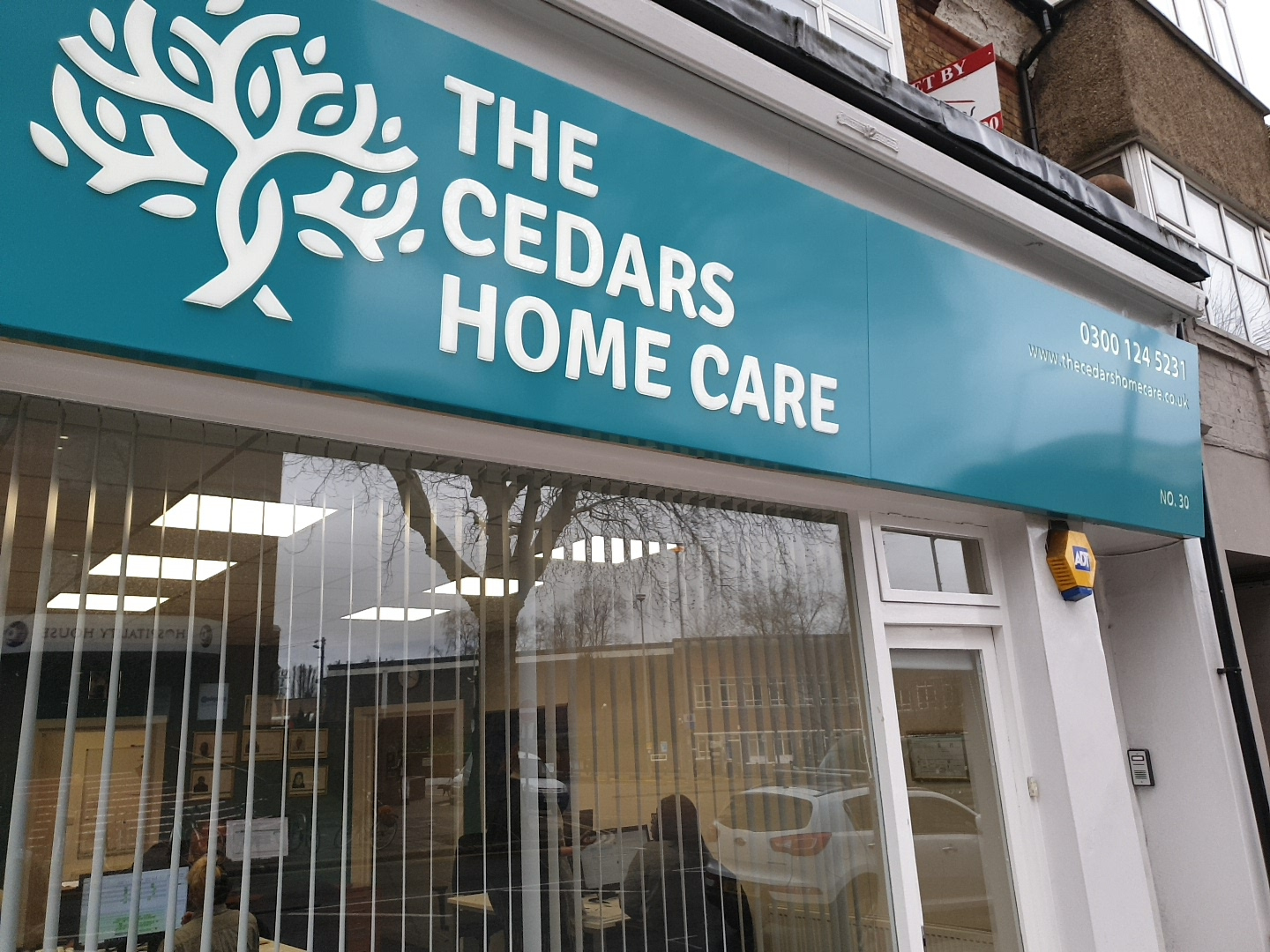 Outside of The Cedars Home Care